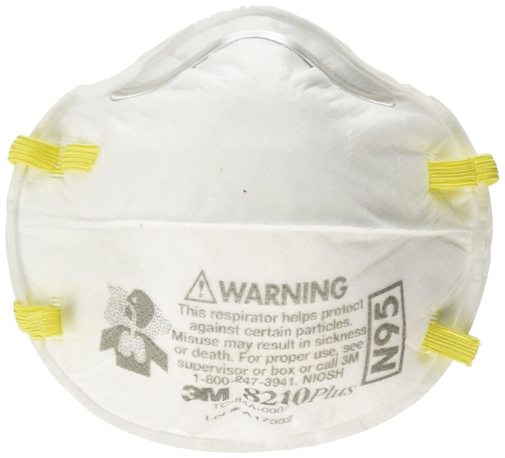 3M 8210 Plus N95 Particulate Respirator