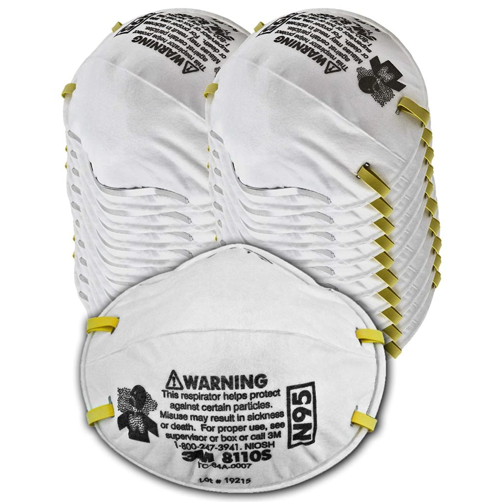 3M 8110S N95 Particulate Respirator