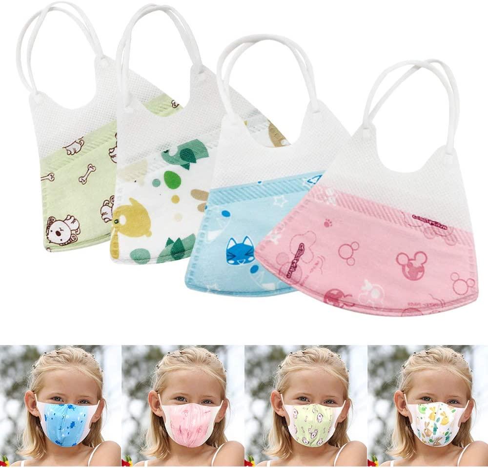 HEFUTE 95% Kids Multi Layer Respirator Mask