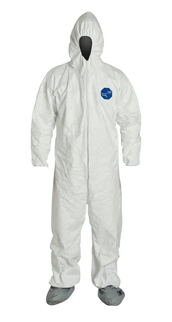 Dupont Tyvek 400 Protective Coveralls