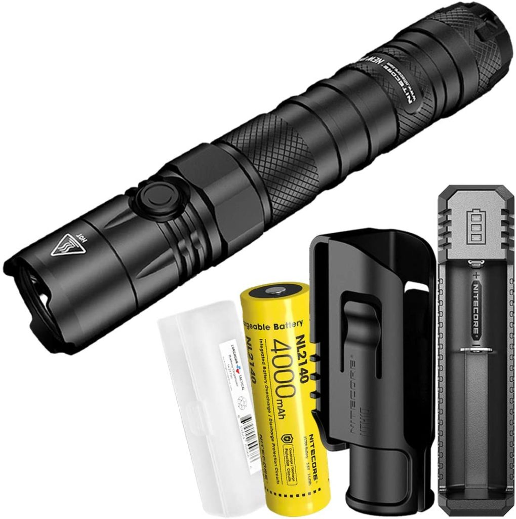 NiteCore P12 Rechargeable Tactical Flashlight