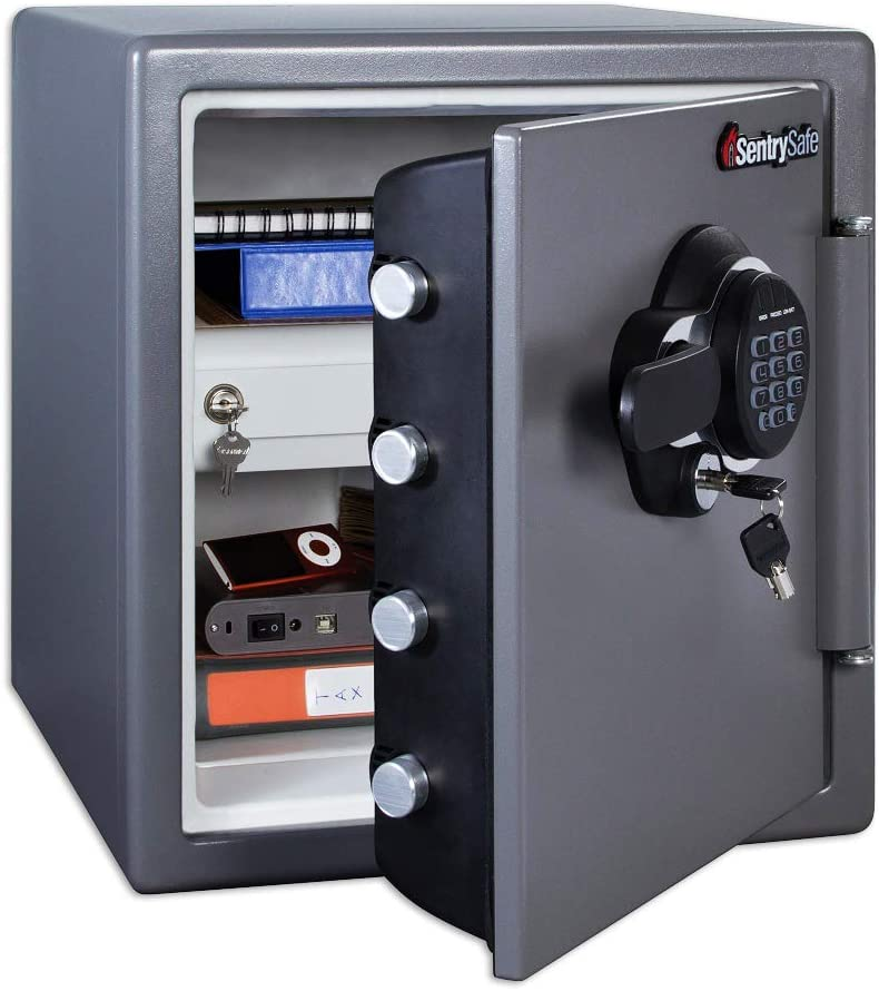 SentrySafe SFW123GDC Fireproof and Waterproof Safe