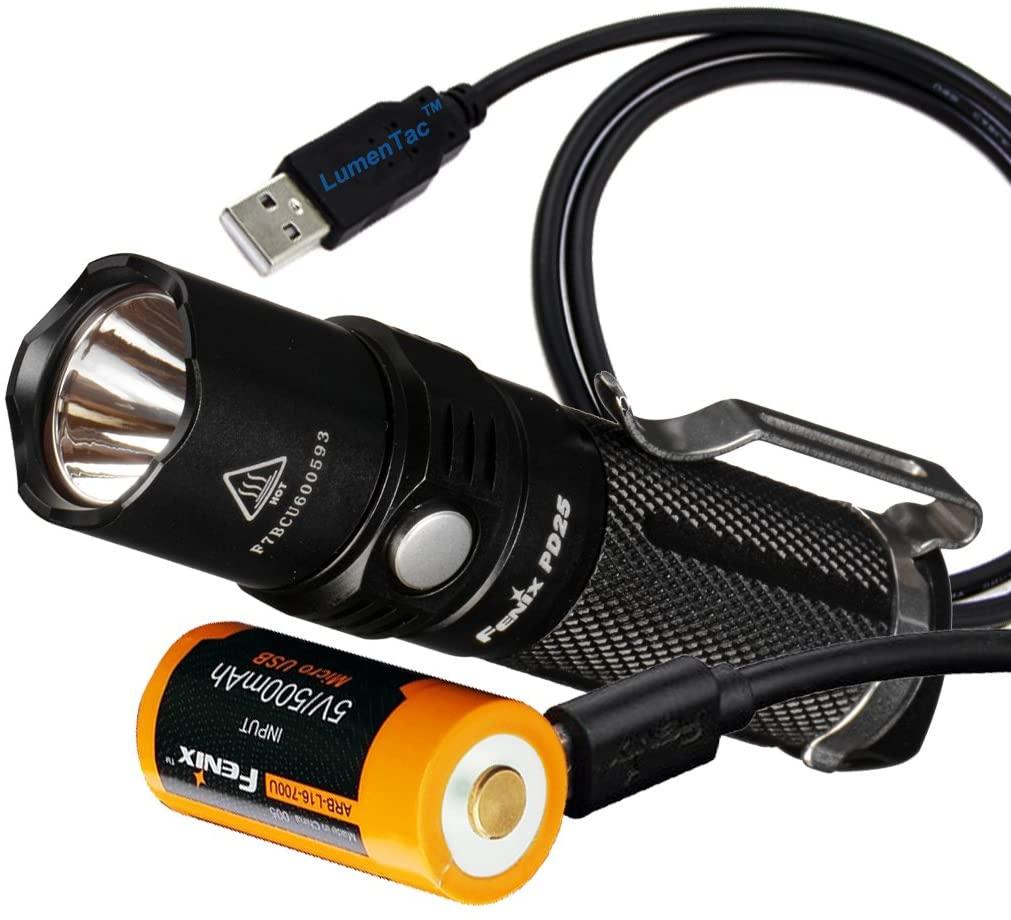 Fenix PD25 Tactical Flashlight