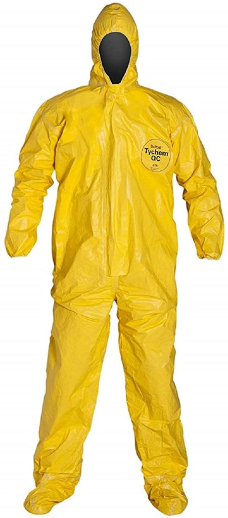 DuPont Tychem 2000 Chemical Protective Coveralls