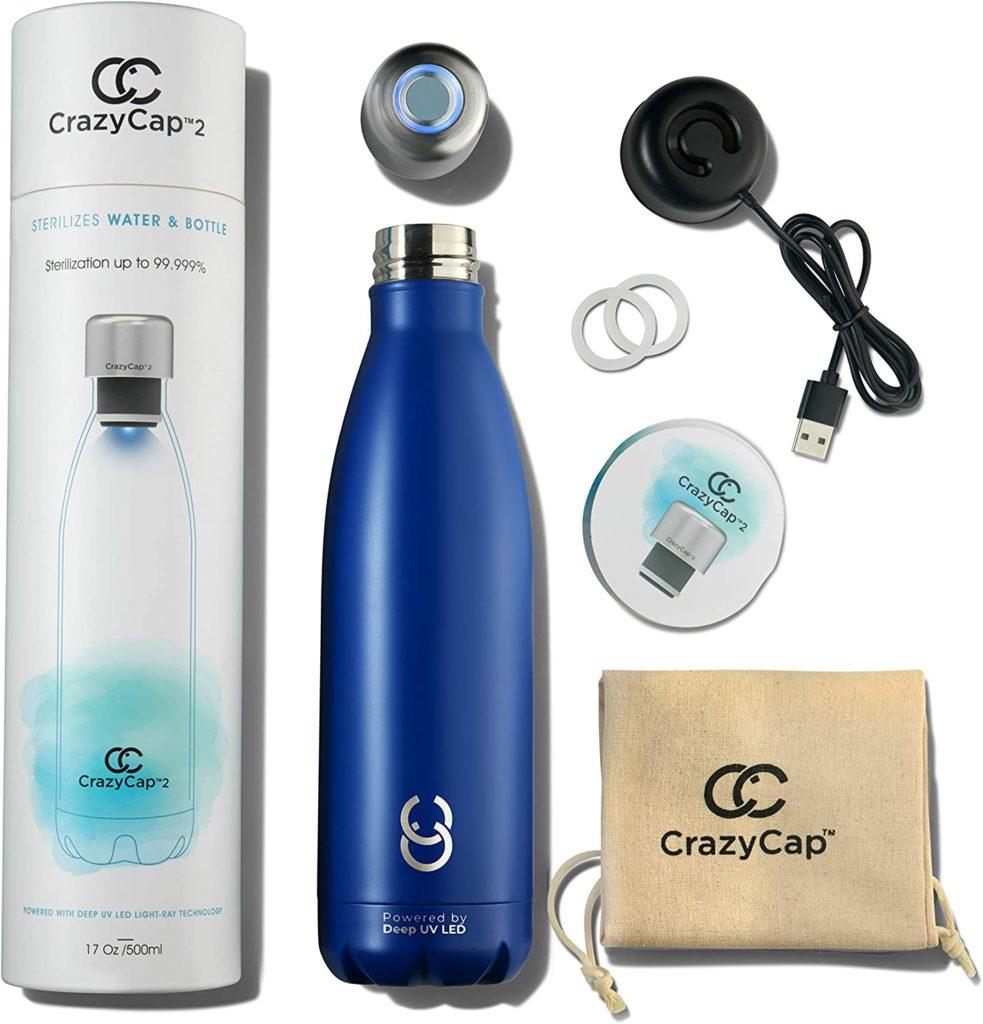 crazycap uv water purifier