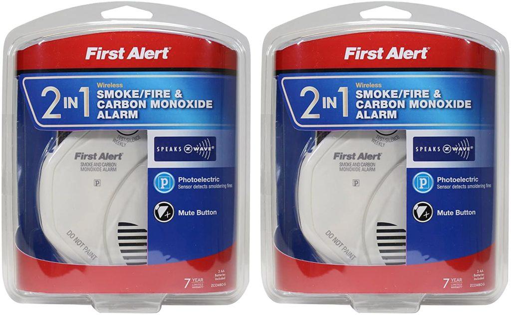 First Alert NBsDH 2-in-1 Z-Wave Smoke Detector & Carbon Monoxide Alarm