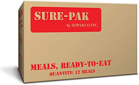 Sure=pak meals with heaters