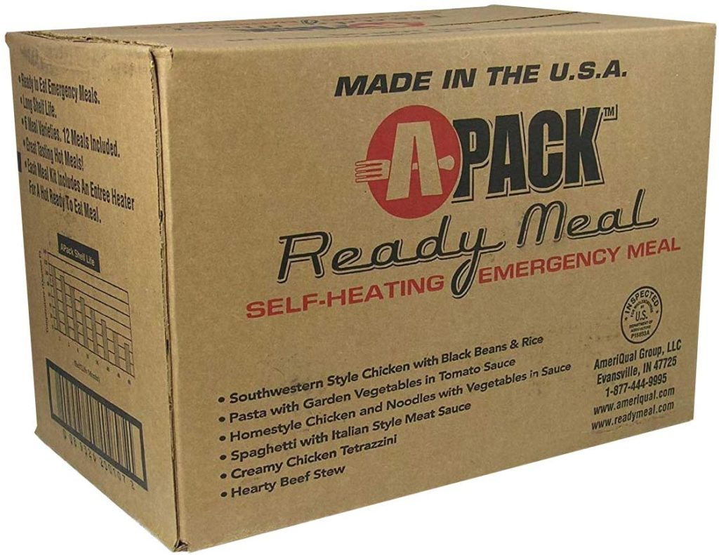 Ameriqual apack ready meal