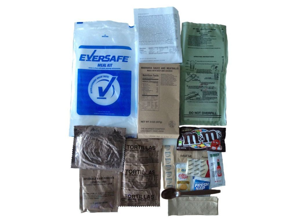 Eversafe MRE Meals