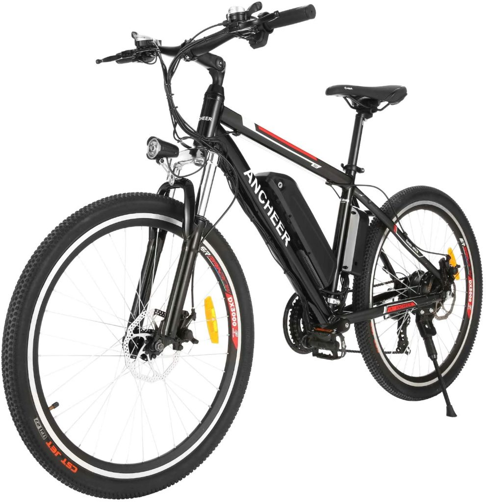 ancheer 500w electric mountain bike